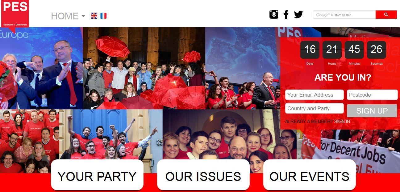 PES website