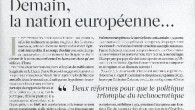 L'Express' Christoph Barbier writes. 'It's time to end the Europe of zombies, of technocrats painted gray and of ghost electorates...' (French article)